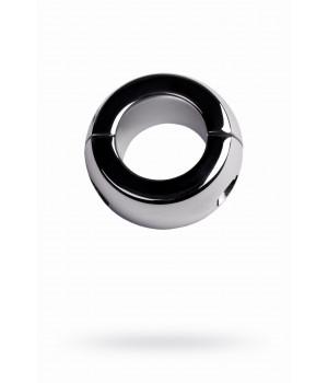 Утяжелитель на мошонку, TOYFA Metal, серебристый, Ø4см, 42г