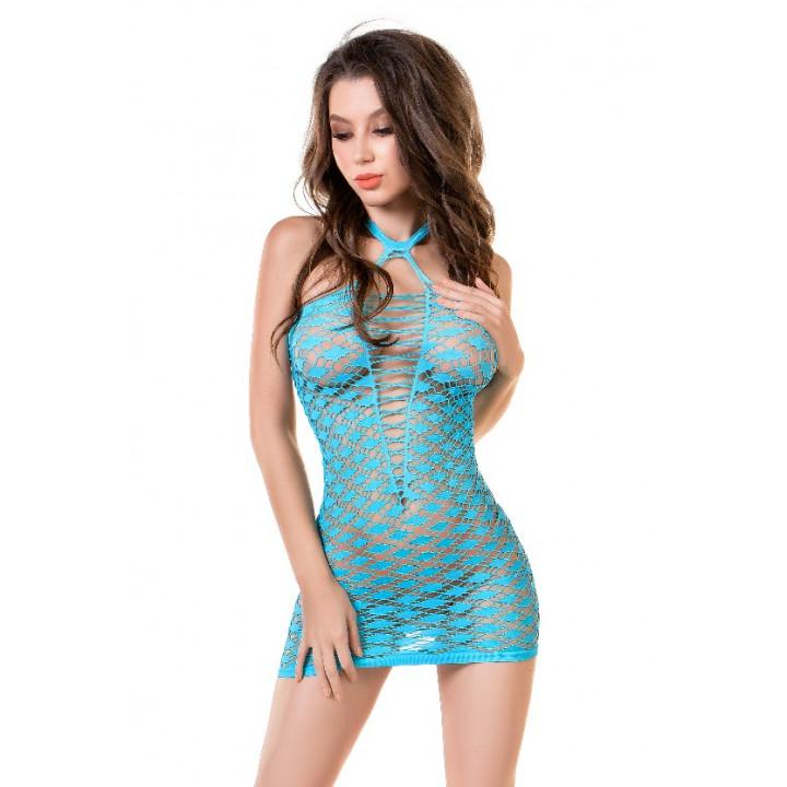 Платье-сетка Joli Lanikai, голубой, S/M