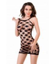 Платье-сетка Joli Perissa, черный, L/XL