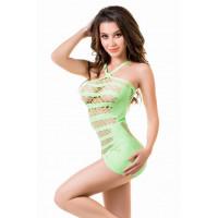 Платье-сетка Joli Venice, зеленый, L/XL