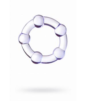 Эрекционное кольцо TOYFA A-Toys, силикон, фиолетовое