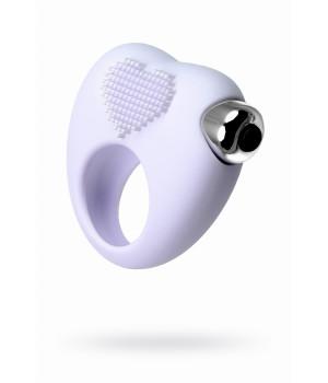 Виброкольцо для продления полового акта JOS MOYS, силикон, белое, 6,7 см