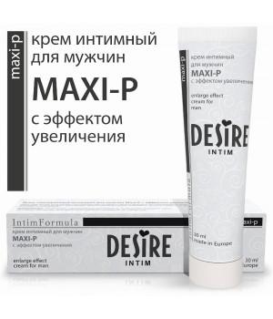 Крем для мужчин Desire ''Maxi-p''  30мл.