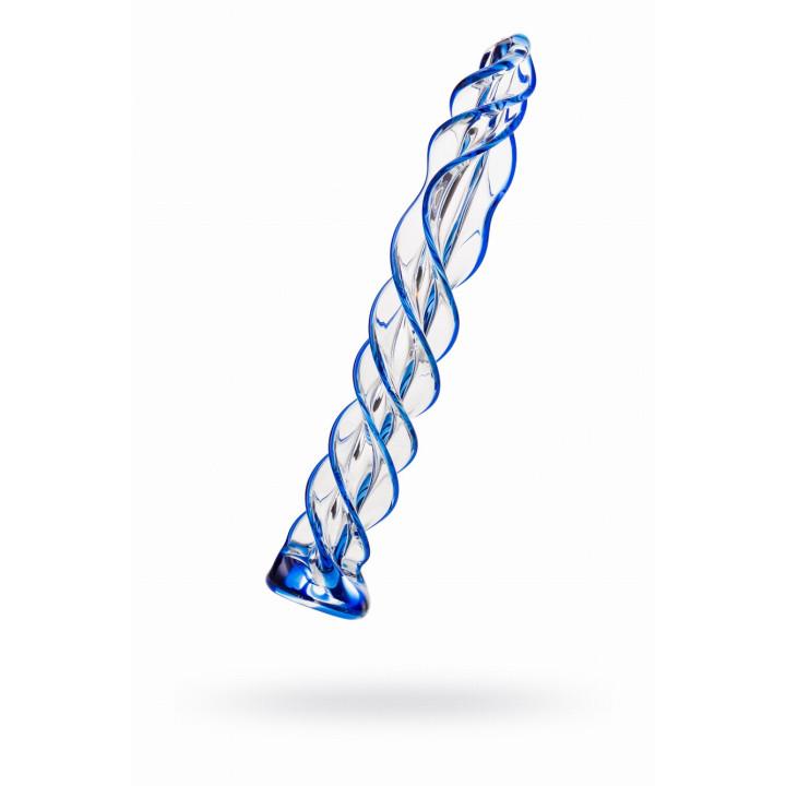 Фаллоимитатор Sexus Glass, стеклянный, 18 см