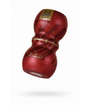 Мастурбатор нереалистичный, Smart Gear, MensMax, TPE, коричневый, 15 см