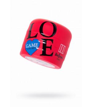 Мастурбатор нереалистичный Lovegame High pressure strips, TPE, красный, 15 см