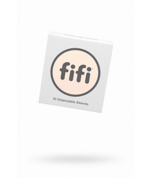 Комплект насадок для мастурбаторов FIFI MALE №10, латекс, 10 шт.