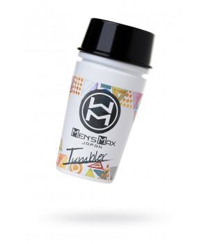 Мастурбатор нереалистичный, Tumbler Square, MensMax, TPE, белый, 16.3 см