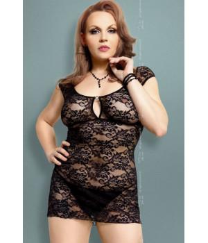 Linley - Ночная сорочка черная-XXXL
