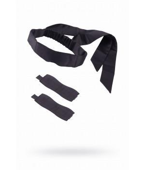 Набор для фиксации Romfun, неопрен, чёрный