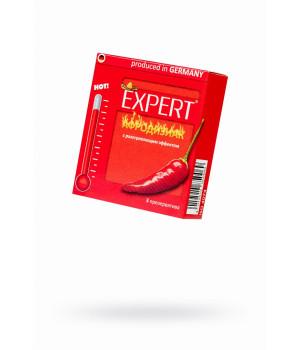 Презервативы Expert ''Афродизиак'' №3, возбуждающие с разогревающим эфектом, 3шт