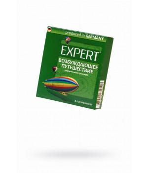 Презервативы Expert ''Возбуждающее путешествие'' №3, увеличенного размера, 3шт