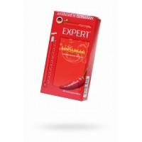 Презервативы Expert ''Афродизиак'' №12, возбуждающие с разогревающим эфектом, 12 шт