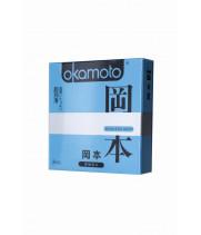Презервативы Окамото серия Skinless Skin  Super lubricative  № 3 С двойной смазкой