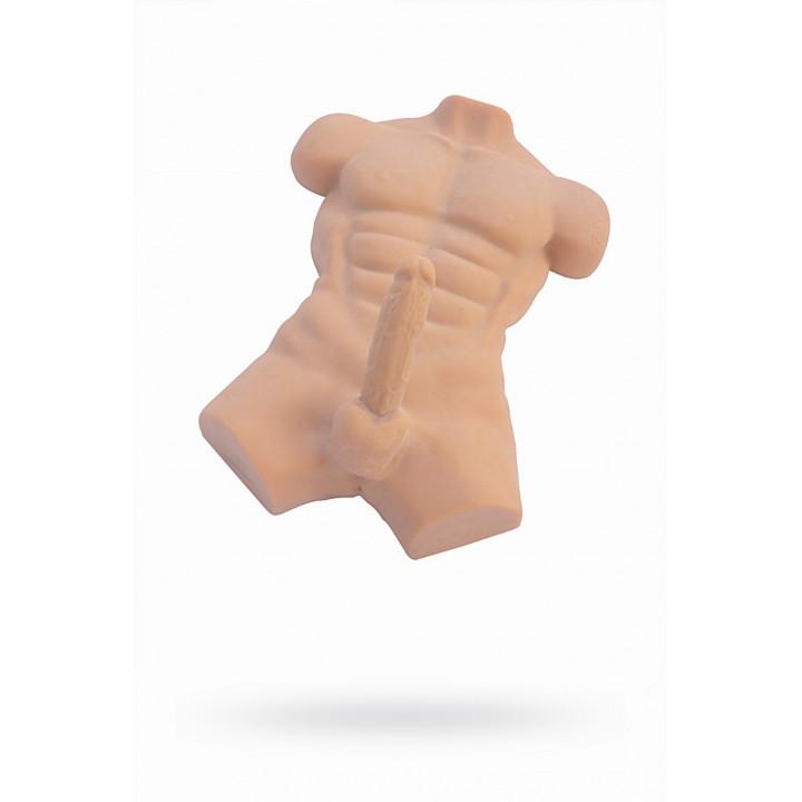 Мастурбатор реалистичный тело, XISE  Jack Jones, TPR, телесный, 69 см