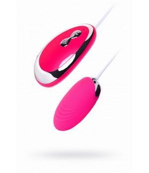 Виброяйцо TOYFA A-Toys  , Силикон, Розовый, 6,5 см