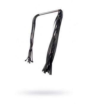 Плеть Sitabella латексная черная двухсторонняя