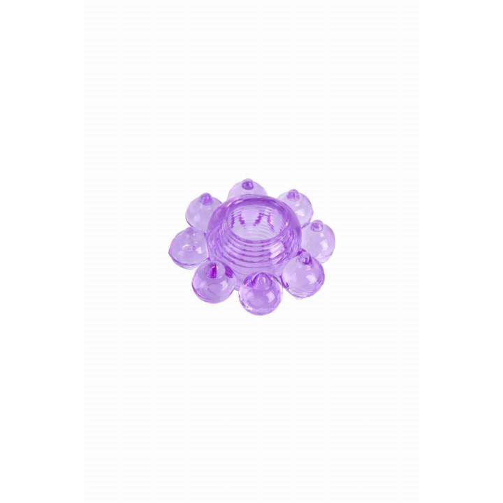 Кольцо гелевое фиолетовое