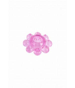Кольцо гелевое розовое