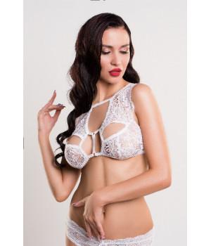 Бралетт кружевной Erolanta Lingerie Collection, белый (46-48)