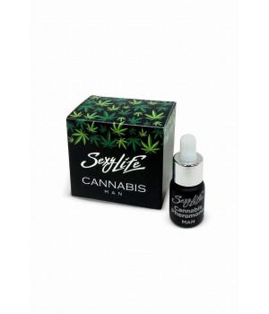 Духи с феромонами Sexy Life мужские, Cannabis Pheromone 5 мл