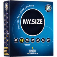 Презервативы ''MY.SIZE'' №3 размер 49 (ширина 49mm)