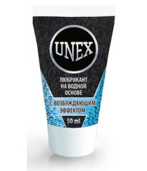 Лубрикант UNEX с возбуждающим эффектом, на водной основе, 50 мл