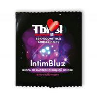 Гель-любрикант Ты и Я ''Intim Bluz'' анальный 4г, 20 шт в упаковке