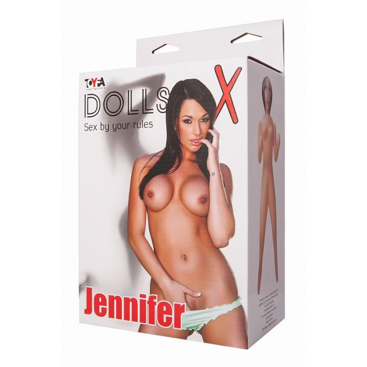 Кукла Jennifer TOYFA Dolls-X, надувная