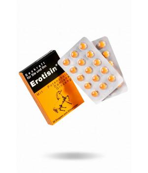 Средство для повышения сексуальной энергии Erotisin Dragees для мужчин и женщин, 30 шт