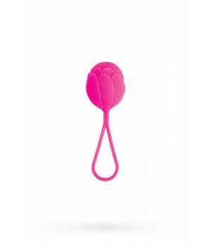 Вагинальный шарик TOYFA A-toys силиконовый, розовый, ?3,5 см