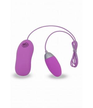 Тренажер для мыщц малого таза Seven Creations, 7 режимов вибрации, силиконовый, фиолетовый