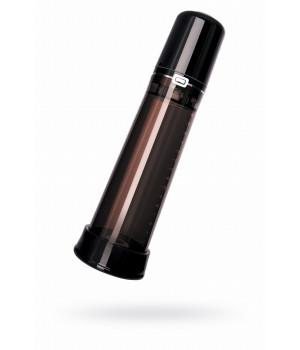 Гидропомпа Erotist, ABS пластик+силикон, черная, 28,5 см